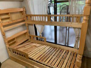 福岡市中央区でベッドの回収